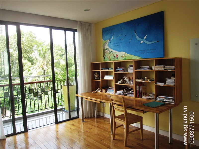 villa-for-rent-in-hcm-Boys' study room16