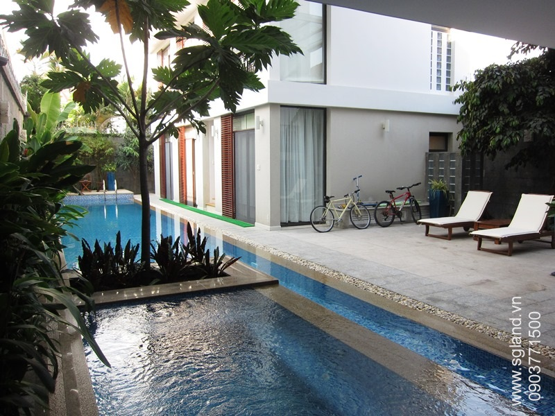 villa-for-rent-in-hcm-Pool from veranda51